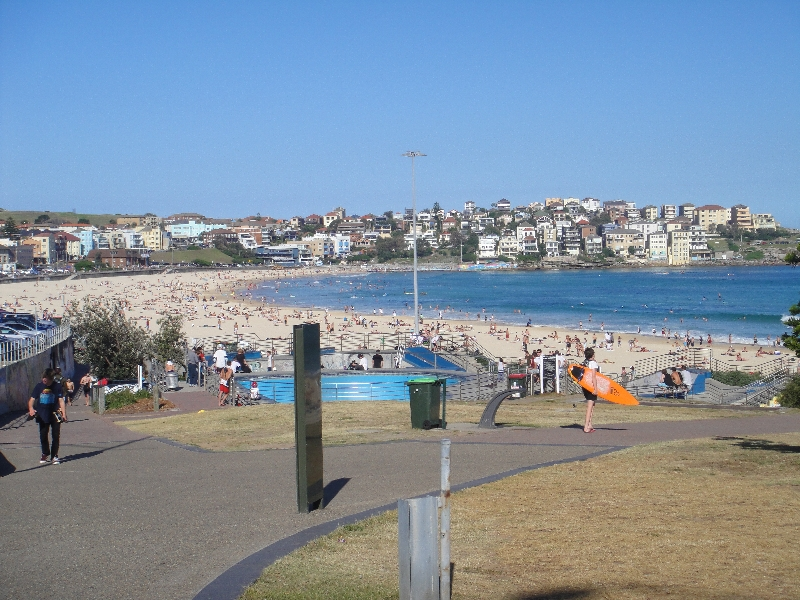 Pictures of Bondi beach, Sydney Australia