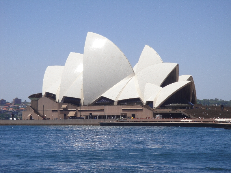 Different angles Sydney Opera House, Australia