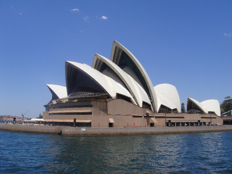 Sydney Opera House on the water, Australia
