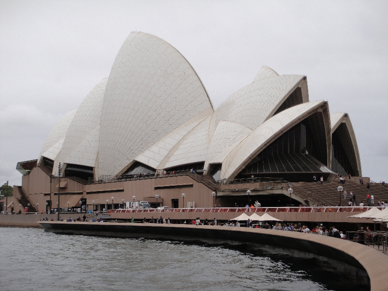 Sydney Opera House from Circular Quay, Australia