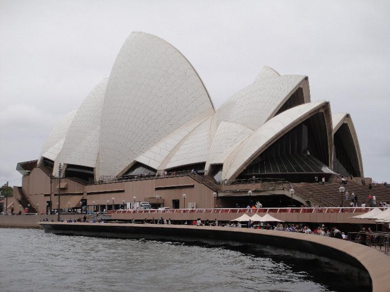 Sydney Opera House from Circular Quay, Australia