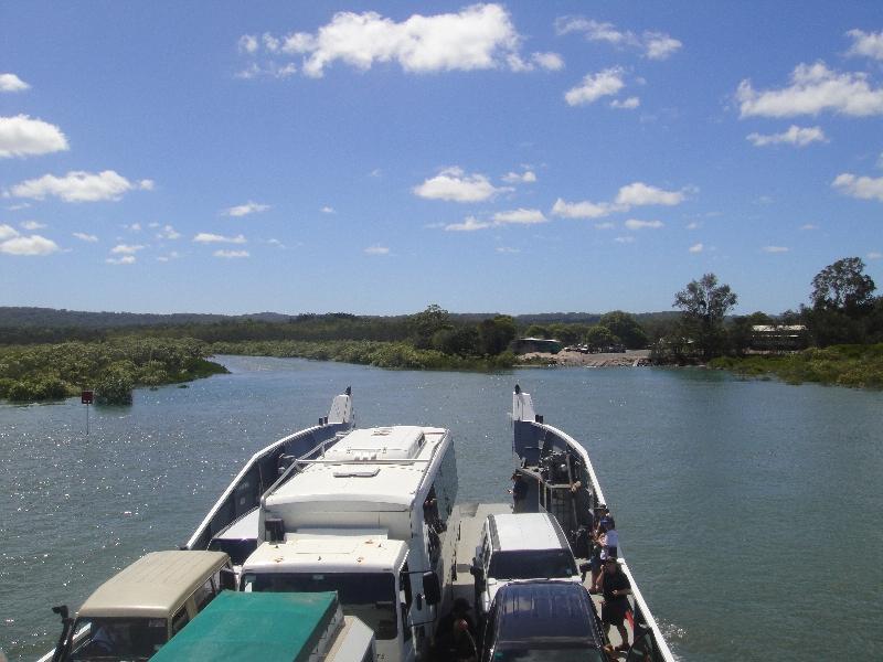 Departures for Fraser Island, Australia