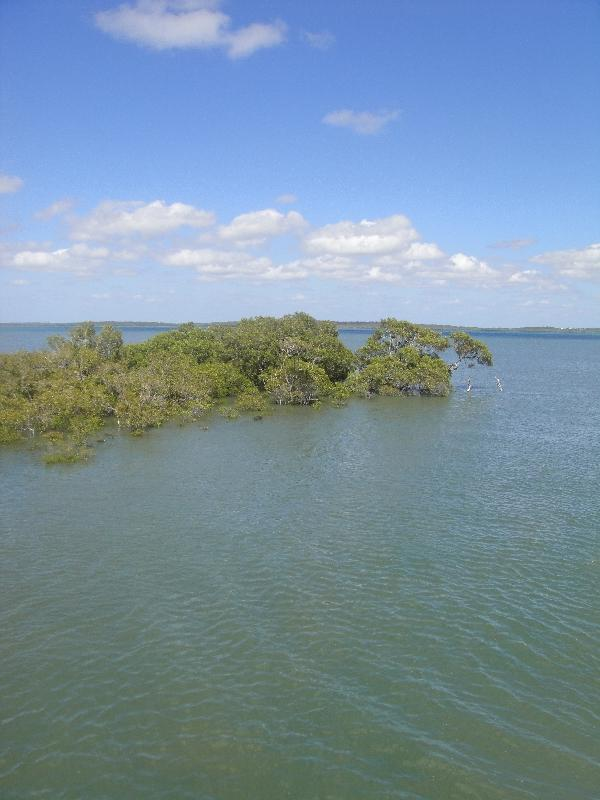 Lagoon at Kingfisher Bay Ferry Dok, Australia