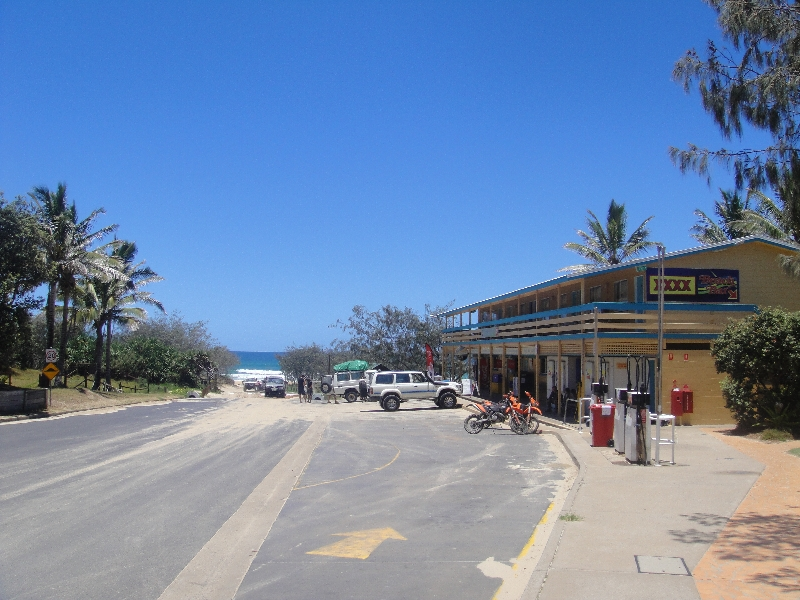 The Eurong Resort beach town, Australia