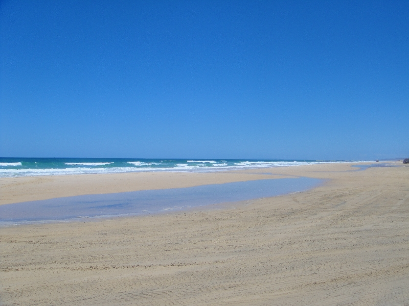 Seventy Five Mile Beach at Eurong, Australia
