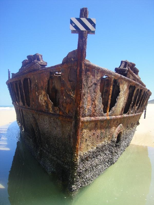Photo of The Moheno Shipwreck, Hervey Bay Australia