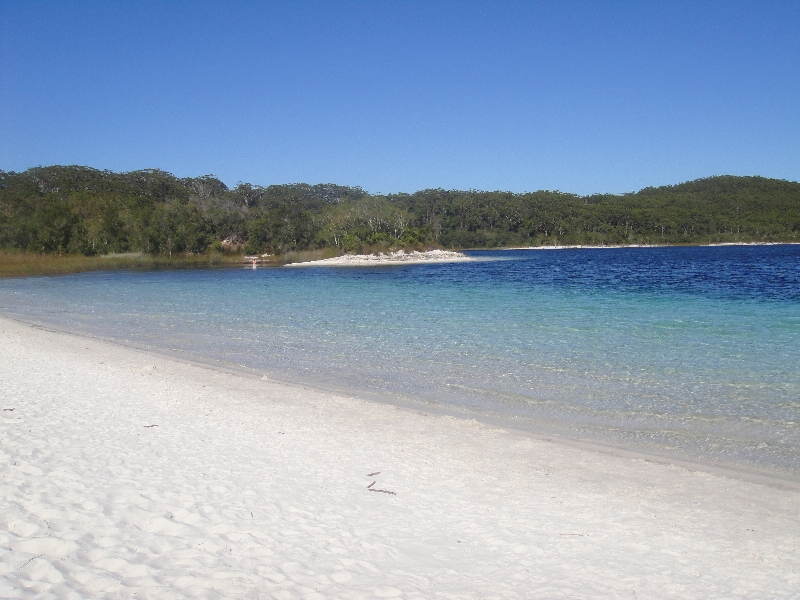 Lake McKenzie Postcard view, Australia