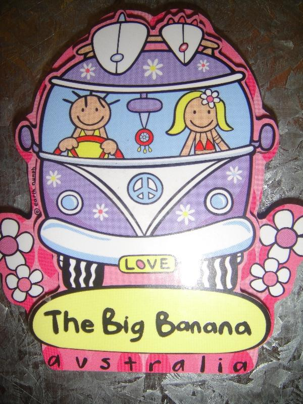 Big Banana souvenirs in Coffs Harour, Coffs Harbour Australia