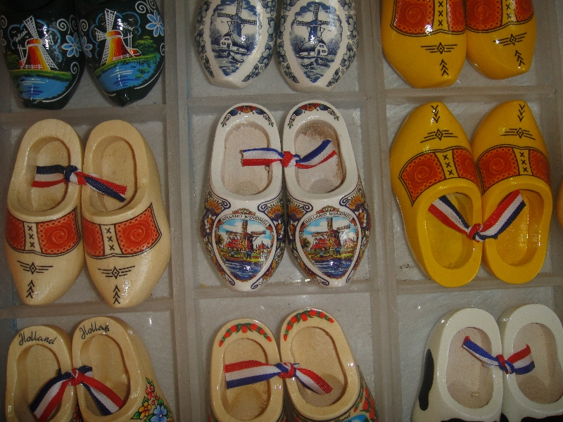 Souvenir clogs in Coffs Harbour, Australia