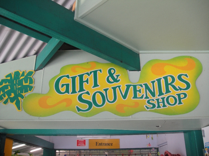 The Big Banana souvenir shop, Coffs Harbour Australia