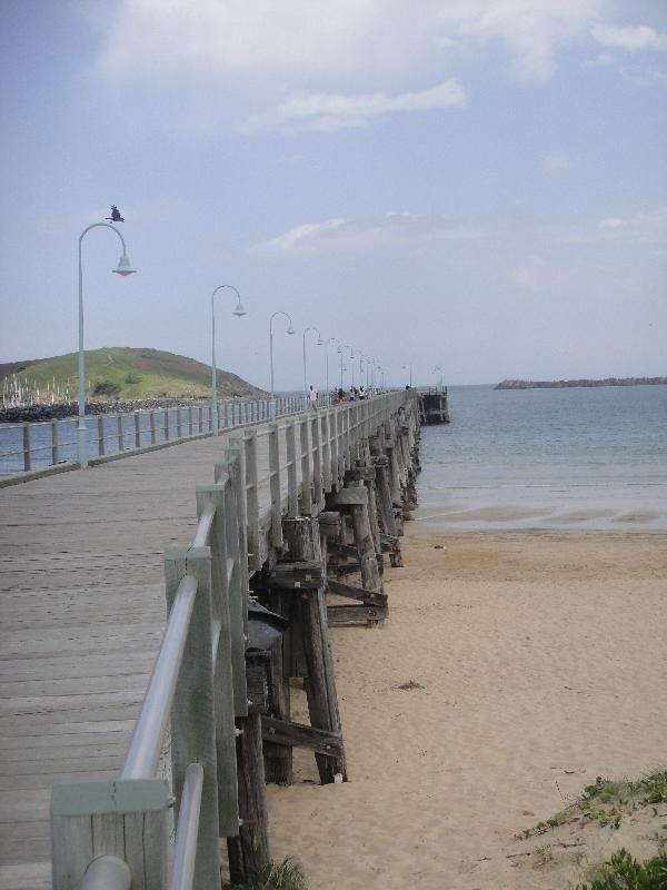 The jetty in Coffs Harbour, Australia