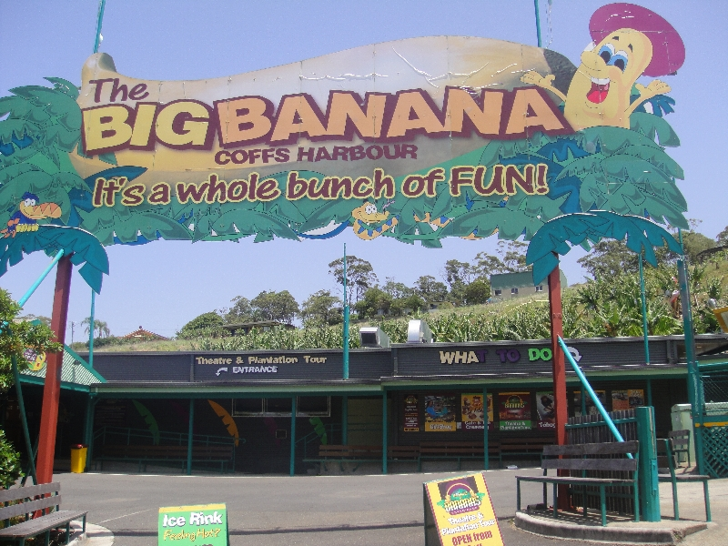 The Big Banana theme park, Coffs Harbour Australia
