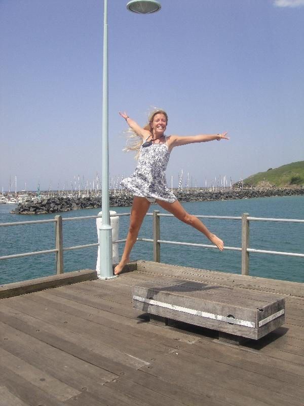 On the Coffs Harbour Jetty, Australia