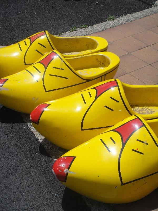 Wooden hand made Dutch Clogs, Coffs Harbour Australia