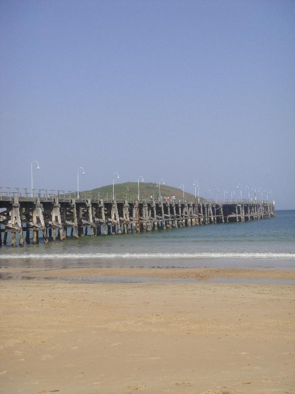 The Coffs Harbour jetty, Australia