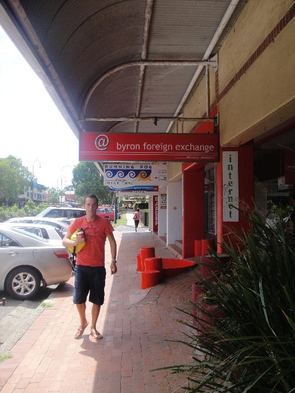 Shops in Byron Bay, Australia