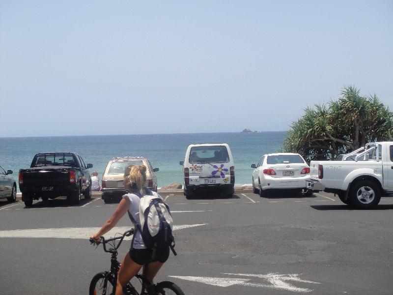 Esplanade in Byron Bay, Australia