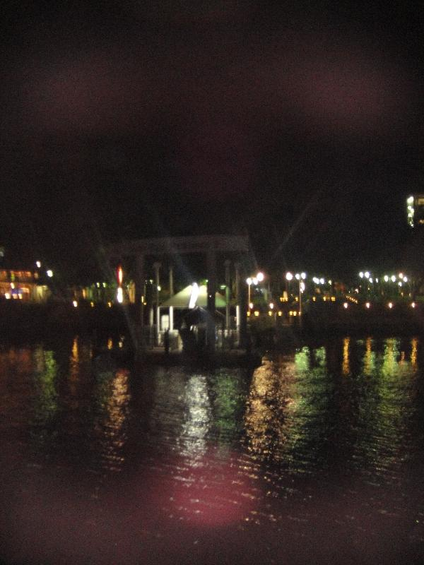 Brisbane river night cruise, Australia