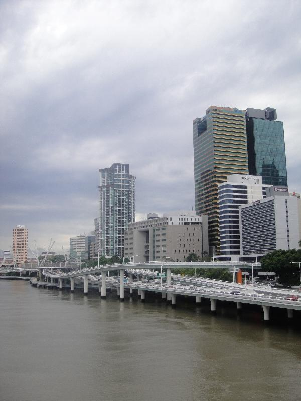 Brisbane CBD by day, Brisbane Australia