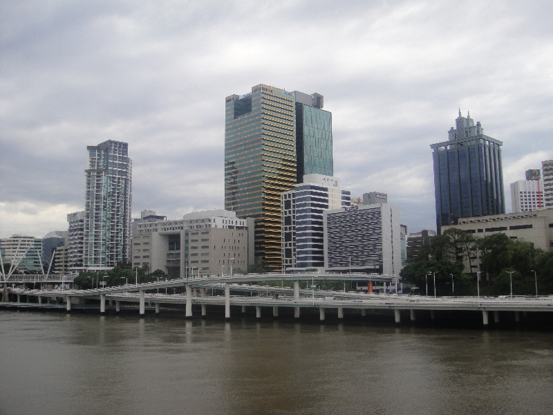 Brisbane skyline picture, Brisbane Australia