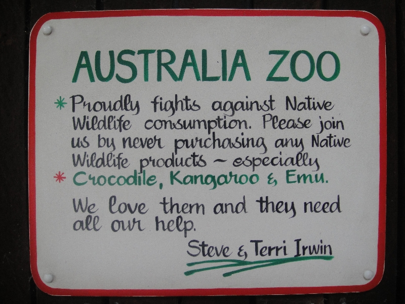 The Australia Zoo in Beerwah, Australia