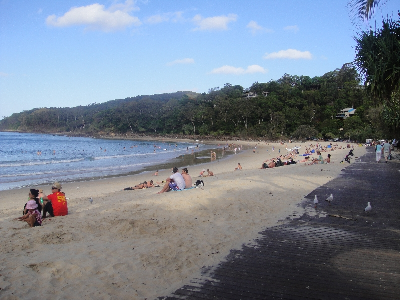 The surf beaches of Noosa Heads Australia Travel Blog