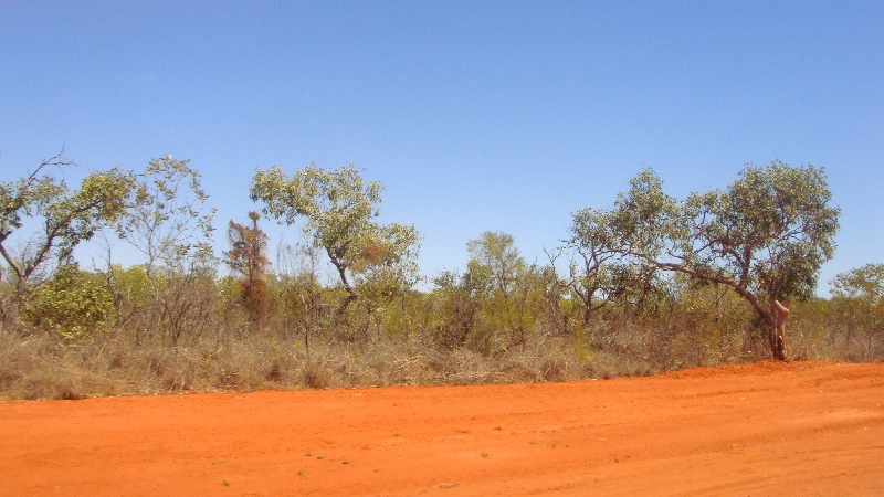 The red outback of Broome, Australia