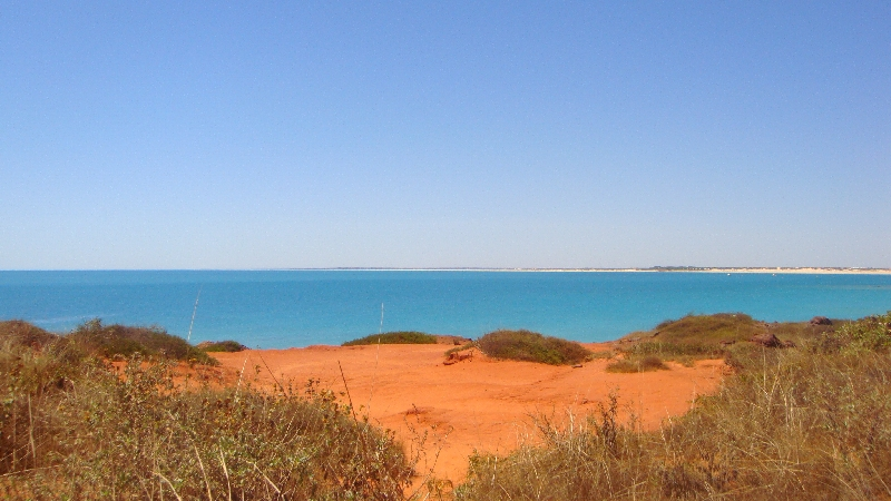 Gantheaume Point in Broome, Australia