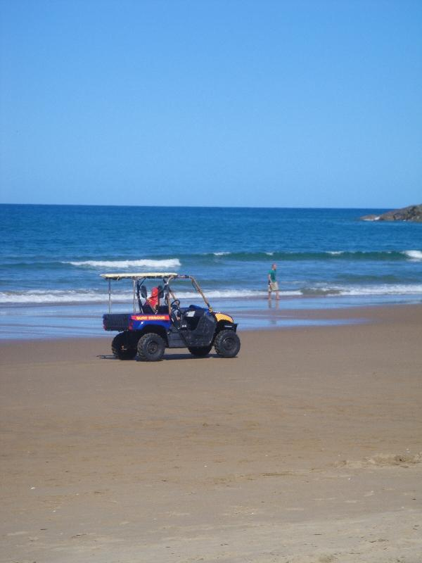 Beach Patrol in Agnes Water, Australia