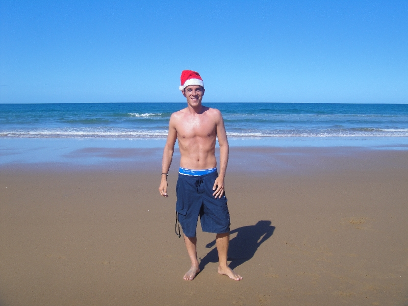 Christmas on the beach!, Agnes Water Australia