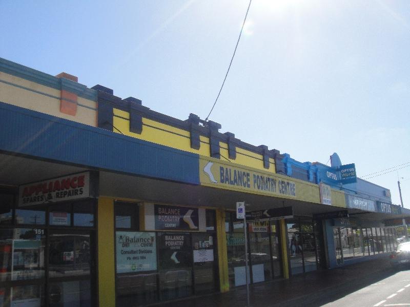 Street in Mackay town, Australia