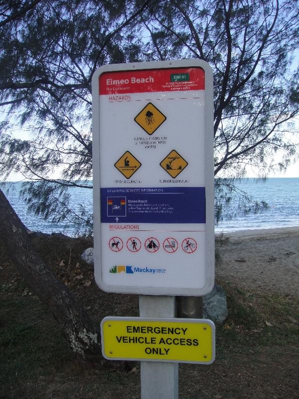 No dogs allowed on Eimeo Beach?, Mackay Australia