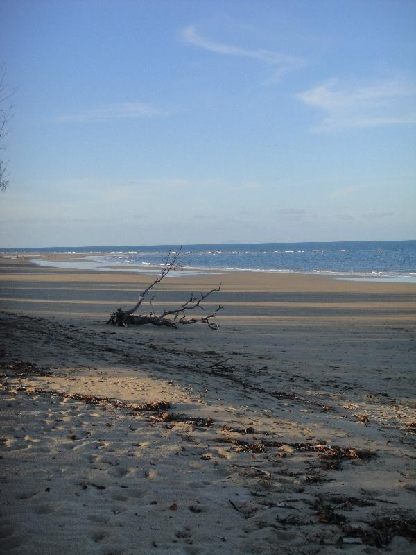 Deserted Blacks Beach in Mackay, Australia