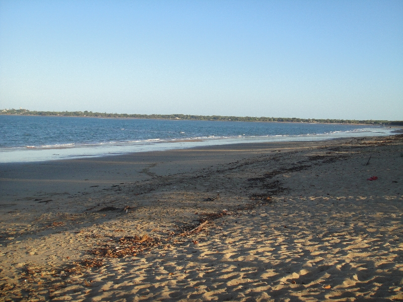 Black Beach in Mackay, Australia