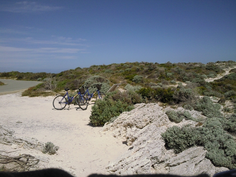 Sand dunes on Rottnest Island, Australia