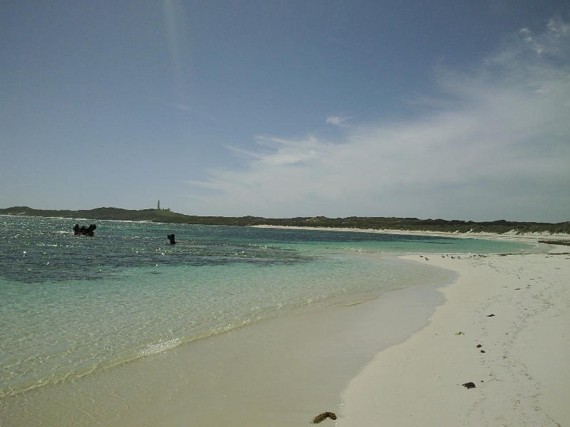 Idyllic beaches on Rottnest Island, Australia