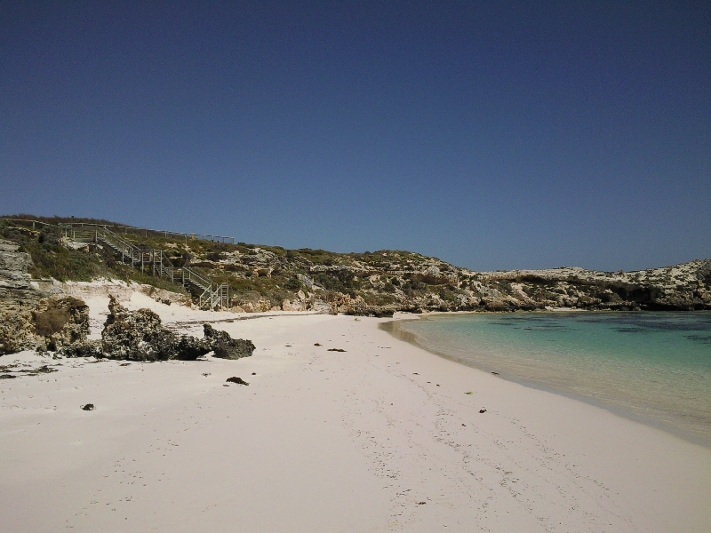 Amazing picture perfect beaches, Rottnest Island Australia