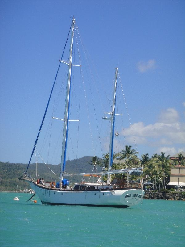 Airlie Beach and parasailing the Whitsunday waters Australia Diary Picture