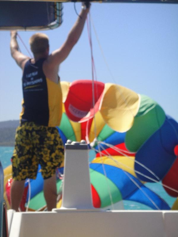 The big parachute , Airlie Beach Australia
