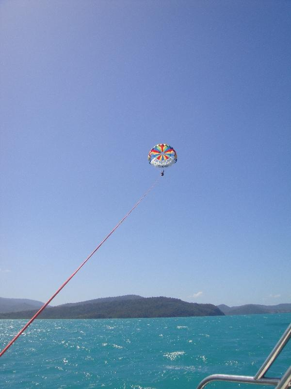 Up in the air, Airlie Beach Australia