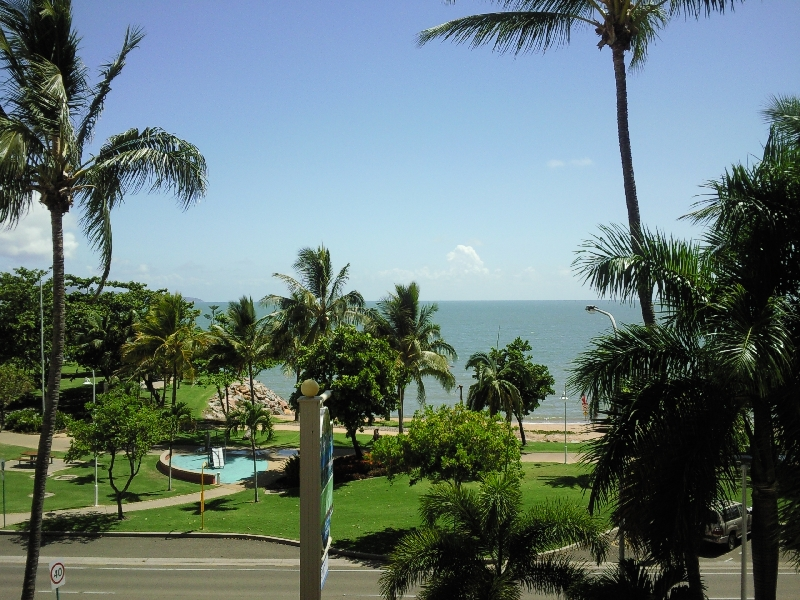 View over The Strand, Townsville, Australia