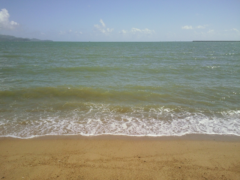 Ocean view at Townsville beach, Australia