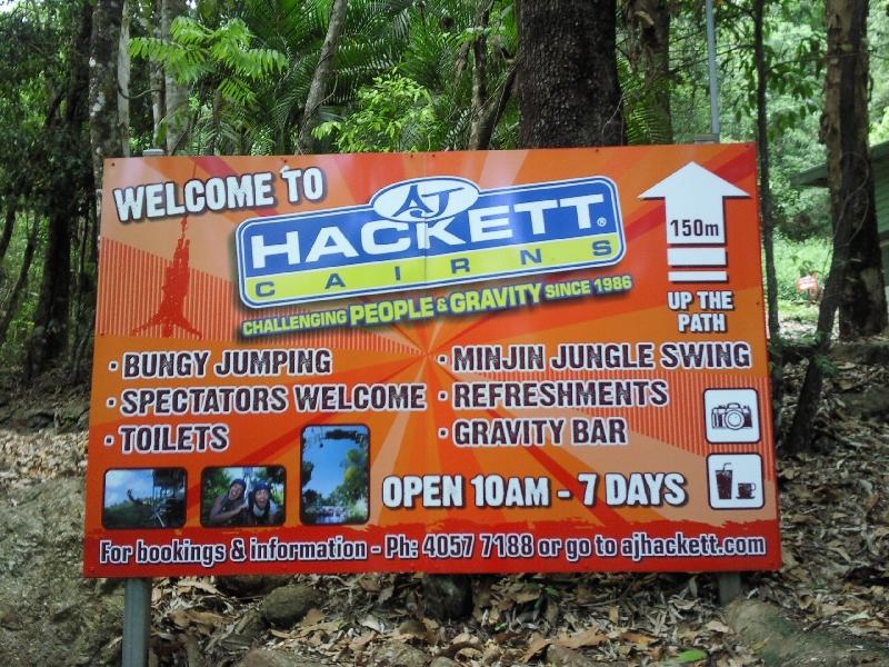 AJ Hackett Bungy Jumping in Cairns, Australia