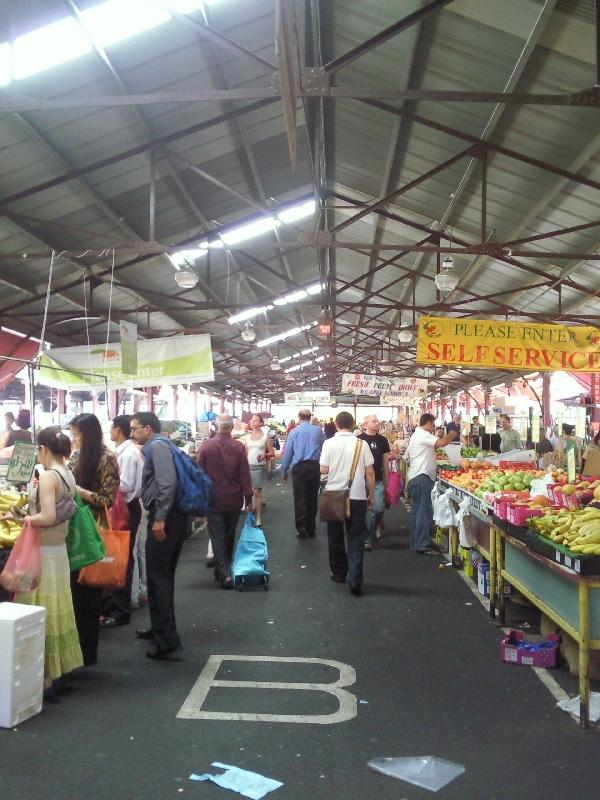 Melbourne markets for fruit and vegies, Australia