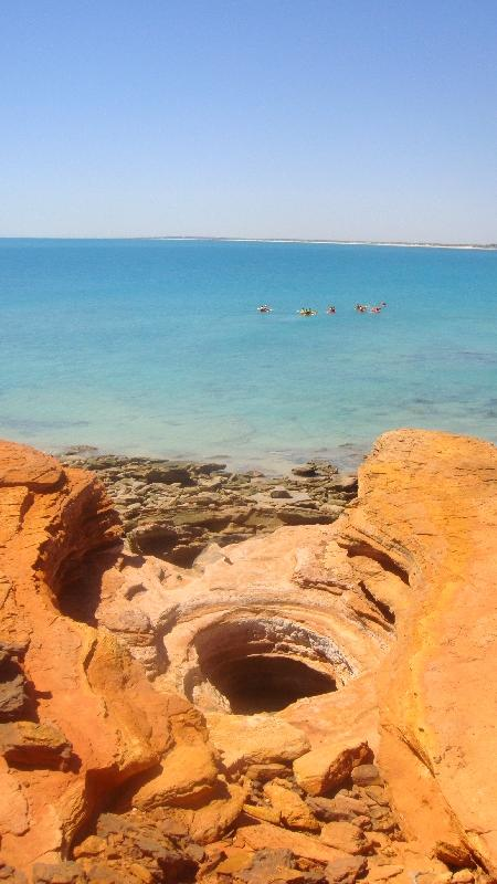 Gantheaume Point in Broome, WA, Australia