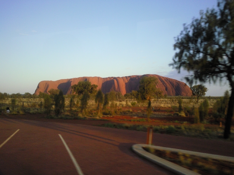 The AAT Kings coach to Uluru, Australia