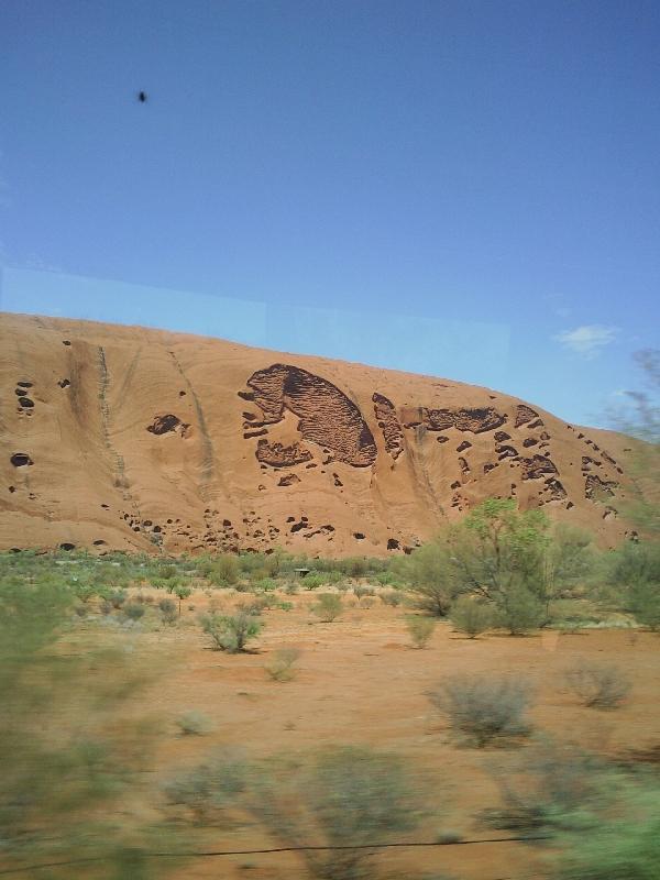 Base Tour Uluru, Australia