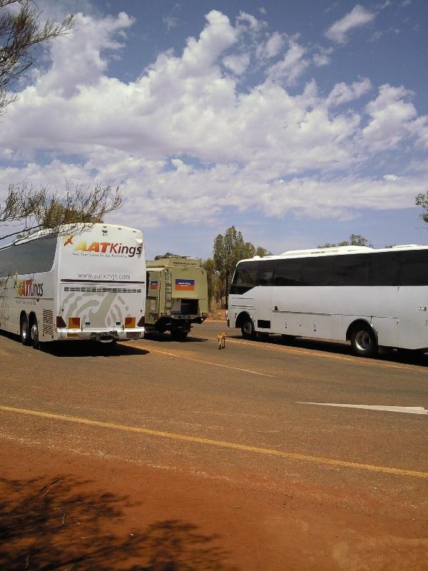 The Ayers Rock coaches and shuttles, Ayers Rock Australia