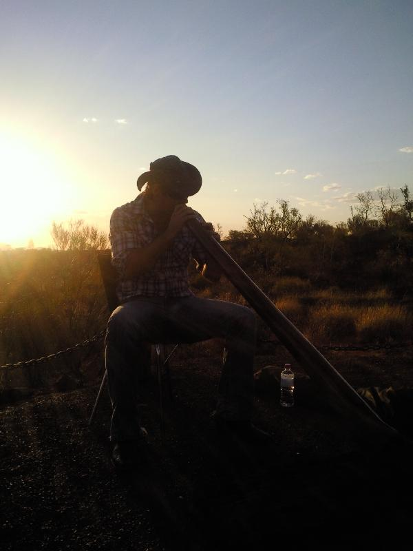 Ayers Rock Australia Didgeridoo music at Sounds of Silence