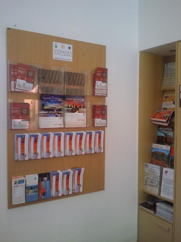 Brochures and Tour info at Lost Camel, Australia